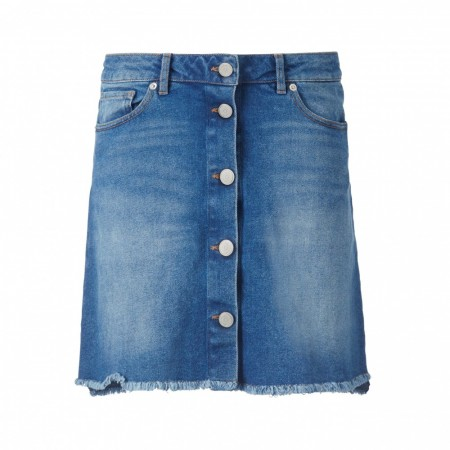 Pieszak Diva Swan Denim Skirt