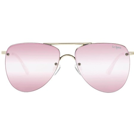 Le Specs The Prince - Gold Blush With Peach Revo Mirror Lens