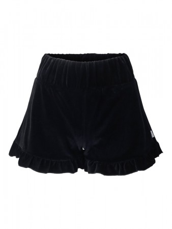 Ella&il Hay Velour Shorts - Navy