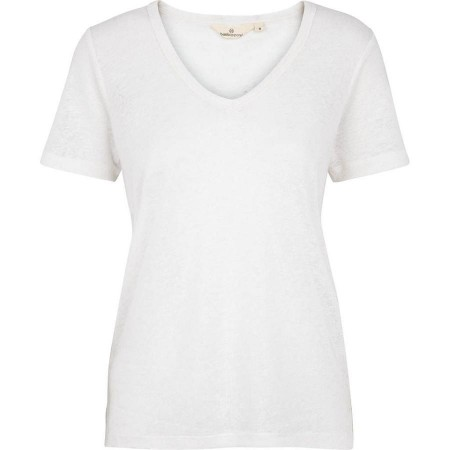 Basic Apparel Monica T-shirt V Neck - White