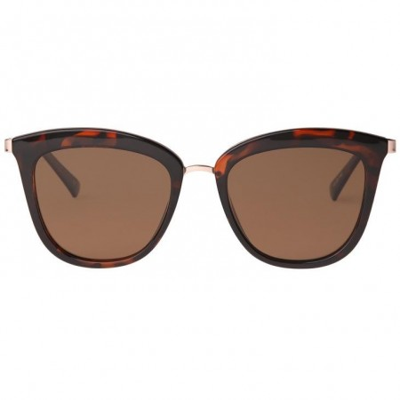 Le Specs Caliente - Tort Rose Gold With Brown Mono Lens