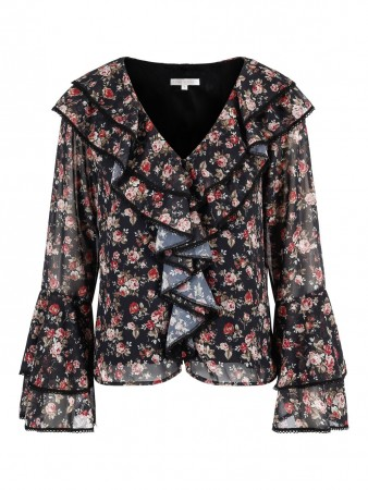 Love Lolita Corinne Blouse - Sort