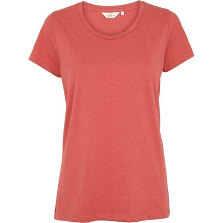 Basic Apparel Rebekka Tee Organic Gots - Mineral red