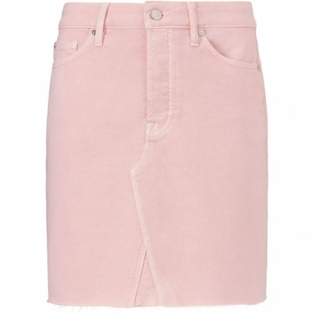 Pieszak Daria Denim Skirt - Pastel Rose