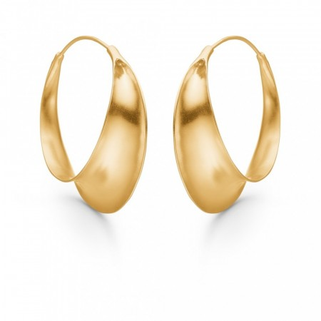 Enamel Earring Magnificent - Gold