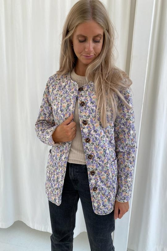 BY IC Maluca Jacket - Lilac Print