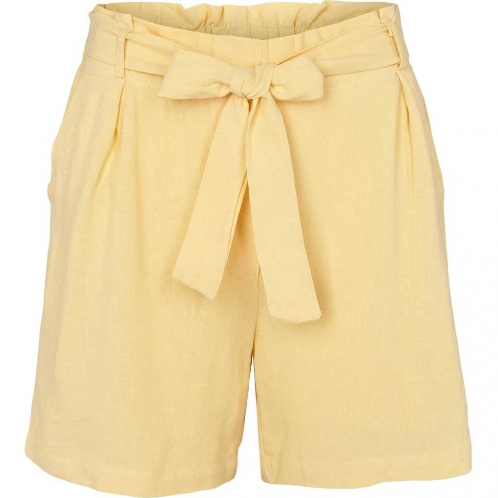 Basic Apparel Trine Shorts - Straw