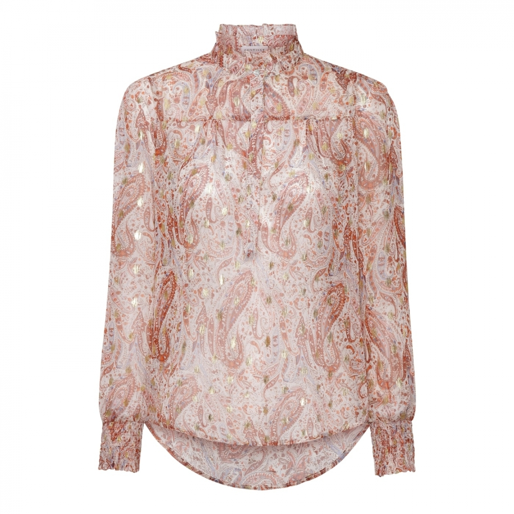 Continue Asta Blouse - Paisly Burn