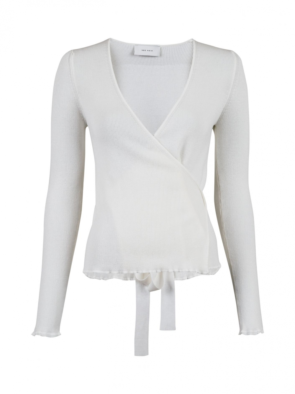 Neo Noir Beso Voile Blouse White | at home